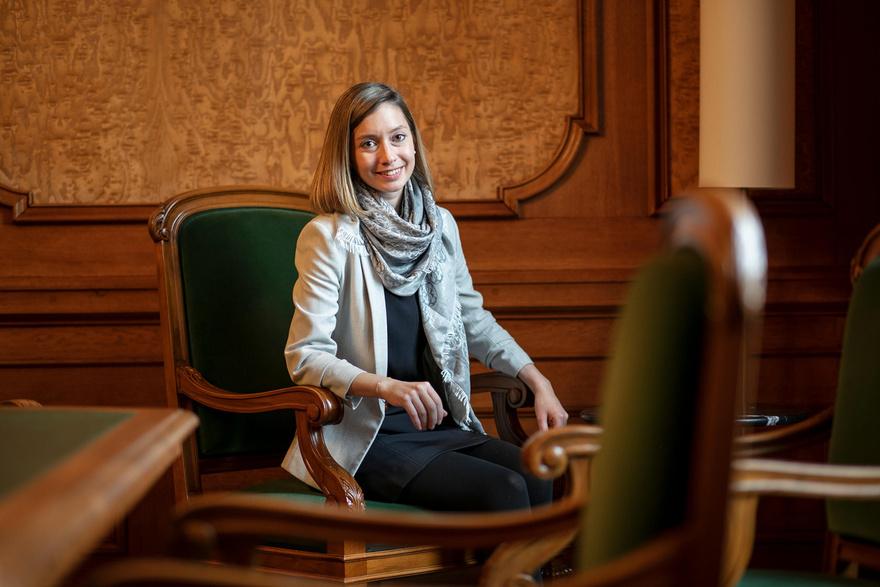 Johanna Gapany, une libérale classique qui défend le «vivre et laisser vivre»